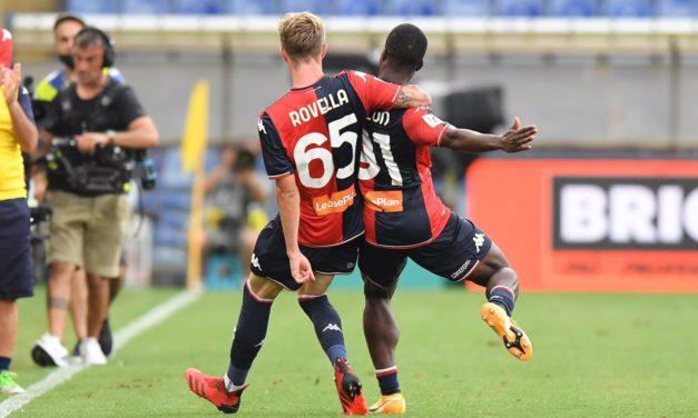Kallon: 'Genoa goal dedicated to Gino Strada'