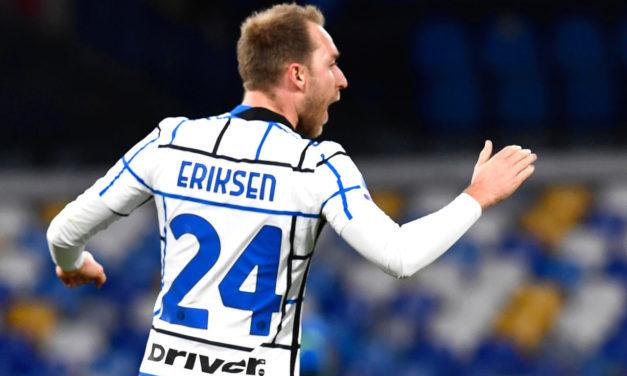 Eriksen revealed his return date