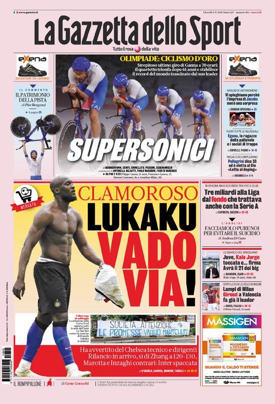 Documentos de hoy: Lukaku quiere al Chelsea