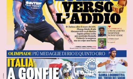 Today's Papers – Lukaku est susceptible de rejoindre Chelsea depuis l'Inter