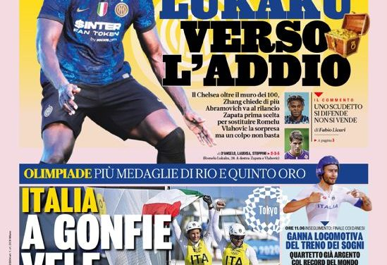 Today's Papers – Lukaku likely to join Chelsea from Inter