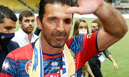 Video: Buffon is the GOAT of a different sport