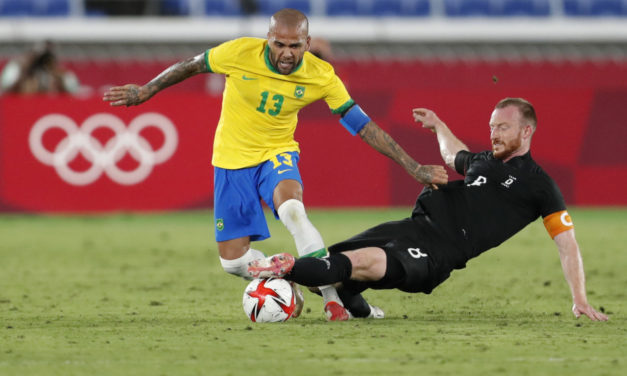 Dani Alves wins 44th title at the Olympics