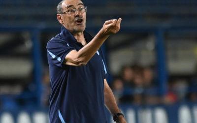 Watch: Sarri holds eagle as Lazio beat Roma in the Derby della Capitale