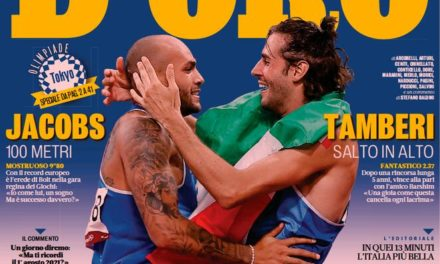 Today's Papers – Legendary gold medals for Italy