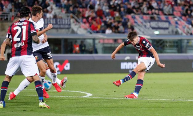 Serie A   Bolonia 2-2 Génova: Hickey no alcanza