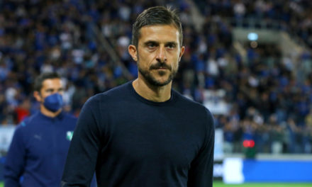 Dionisi: 'Performances not enough for Sassuolo'