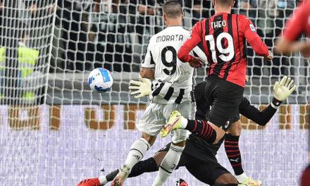 Serie A   Juventus 1-1 Milan: Rebic responds to Morata