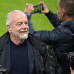 Napoli President De Laurentiis congratulated squad after stalemate