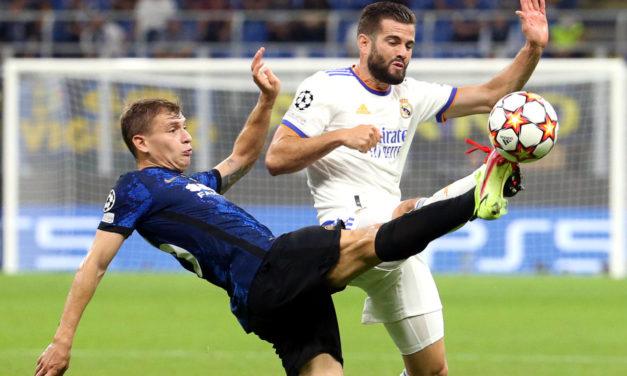 El Inter está luchando en la Champions League, solo cinco victorias desde 2018