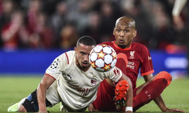 Bennacer 'orgulloso' pero 'decepcionado' tras debutar en Champions ante el Liverpool