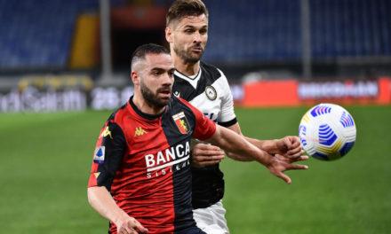 Genoa defender Biraschi out for three weeks