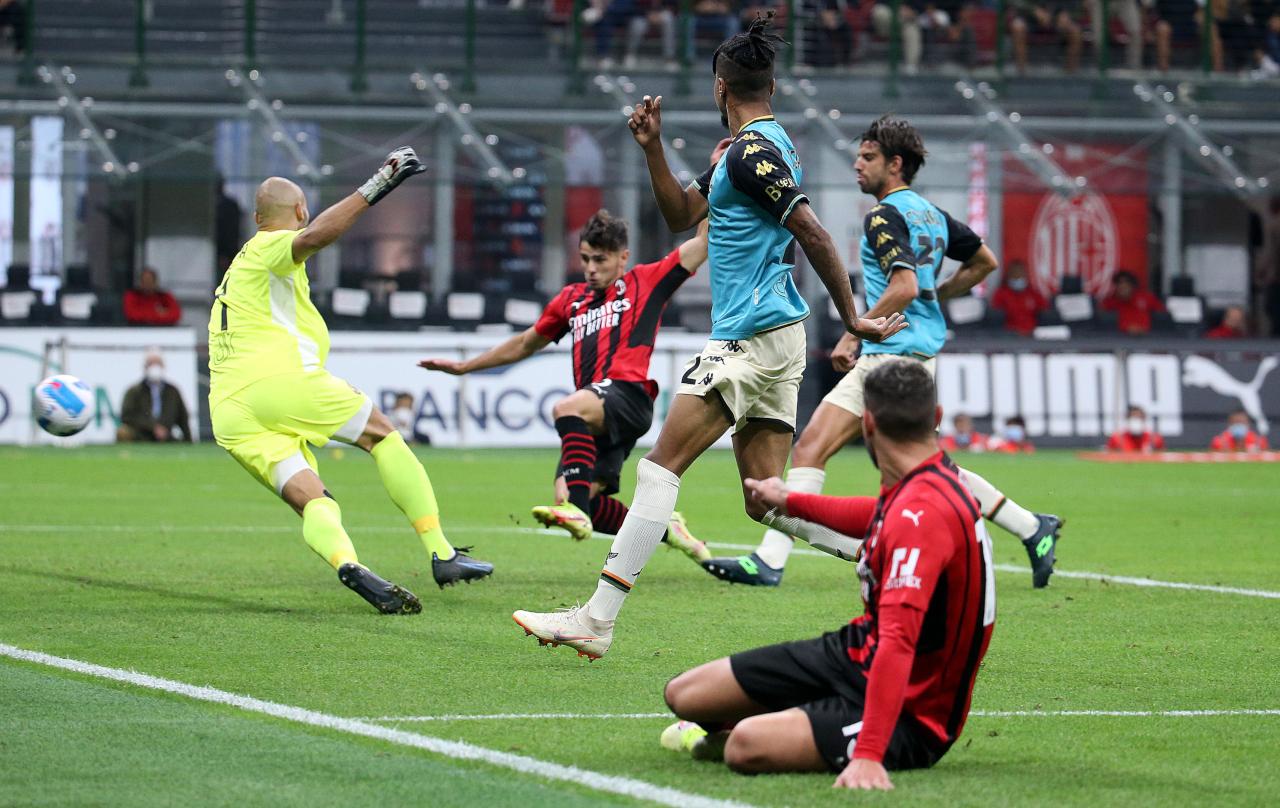 Brahim Diaz goal