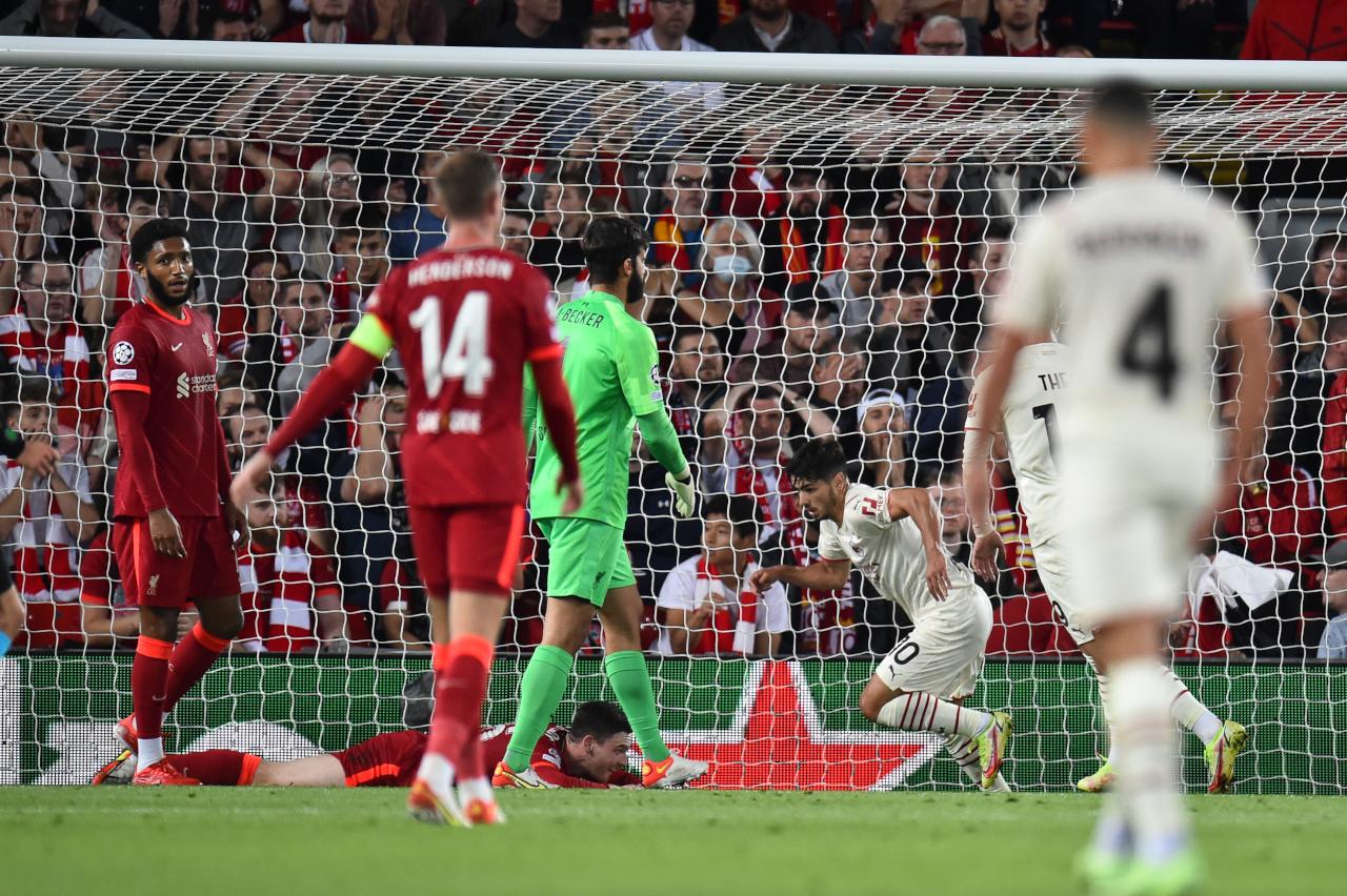 Brahim Diaz Liverpool goal