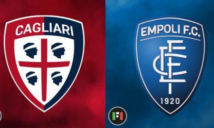 Serie A EN VIVO: Cagliari vs. Empoli