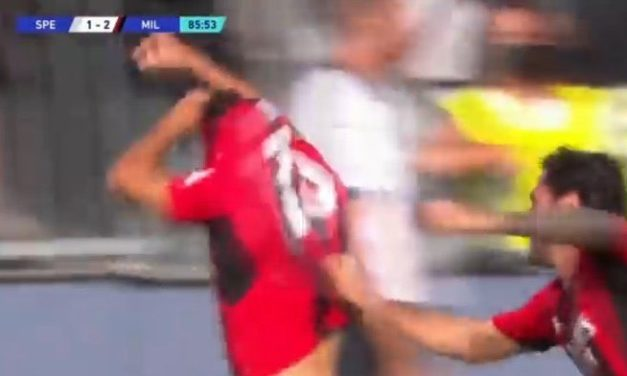 Video: Calabria saves Brahim Diaz from booking