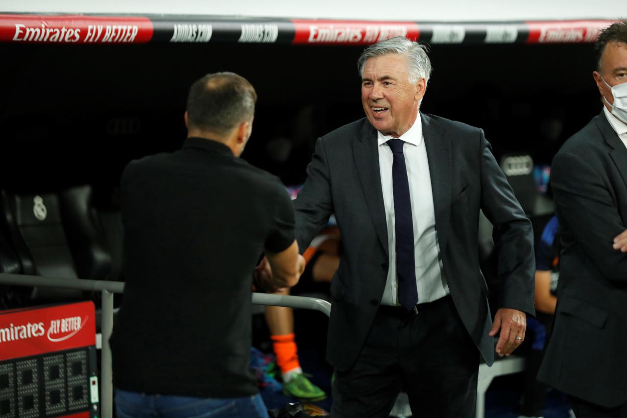 Carlo Ancelotti smile