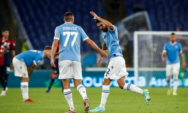 Resumen de la Serie A: Lazio 2-2 Cagliari