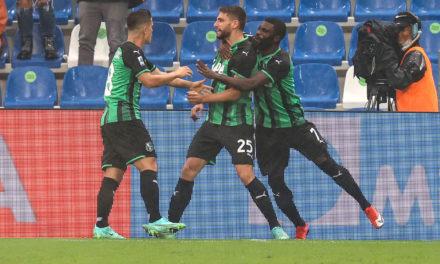 Serie A | Sassuolo 1-0 Salernitana: Berardi ends drought