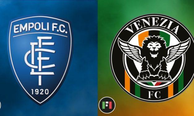Serie A en vivo: Empoli vs.Venezia