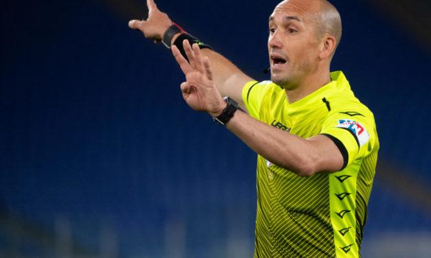 Árbitros de la Serie A Semana 5: Fabbri a cargo cuando la Fiorentina recibe al Inter