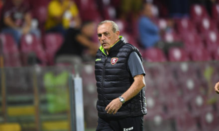 Castori: 'Salernitana create a lot of chances'