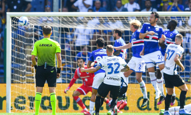 Serie A | Sampdoria 2-2  Inter: Martinez not enough at Marassi