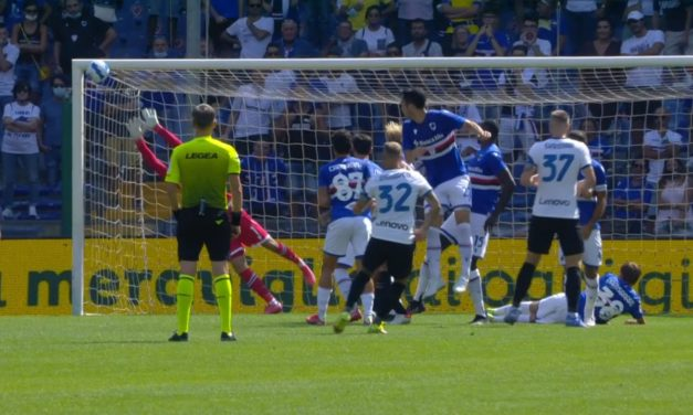 Video: Dimarco redefines 'top bins' with Inter free kick stunner