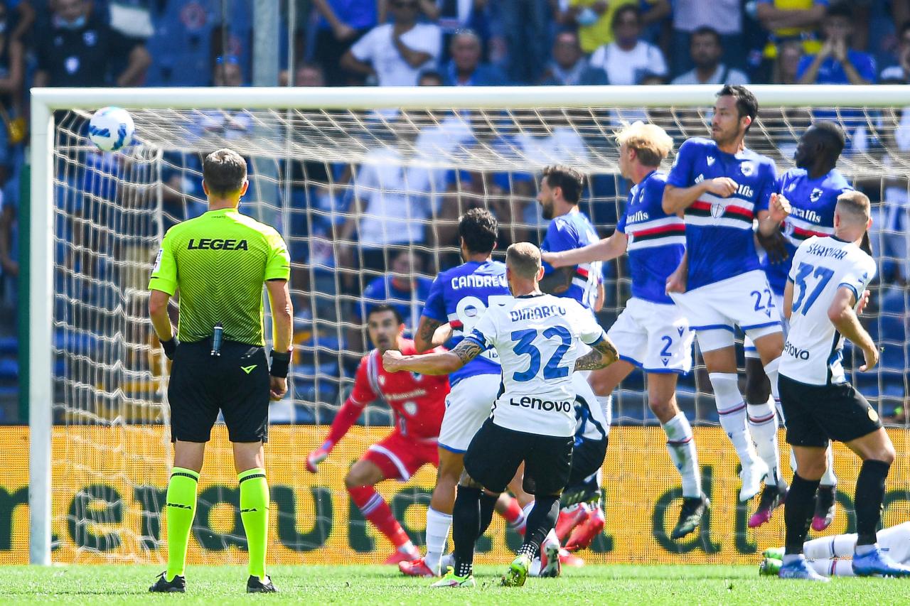 Federico Dimarco Sampdoria Inter goal
