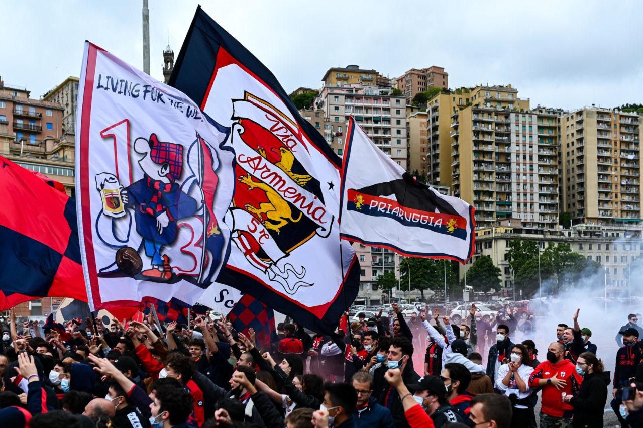 Genoa fans