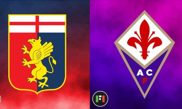 Serie A LIVE: Genoa vs. Fiorentina