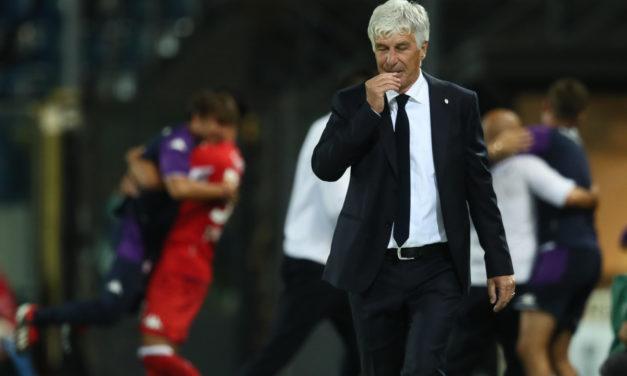Gasperini se queja de los árbitros y apunta a la afición italiana