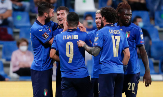 Di Lorenzo: 'Italy goal was a cross'