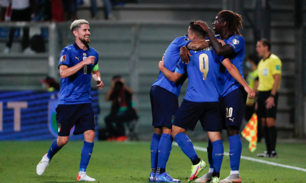 Italy's triple test ends on a high