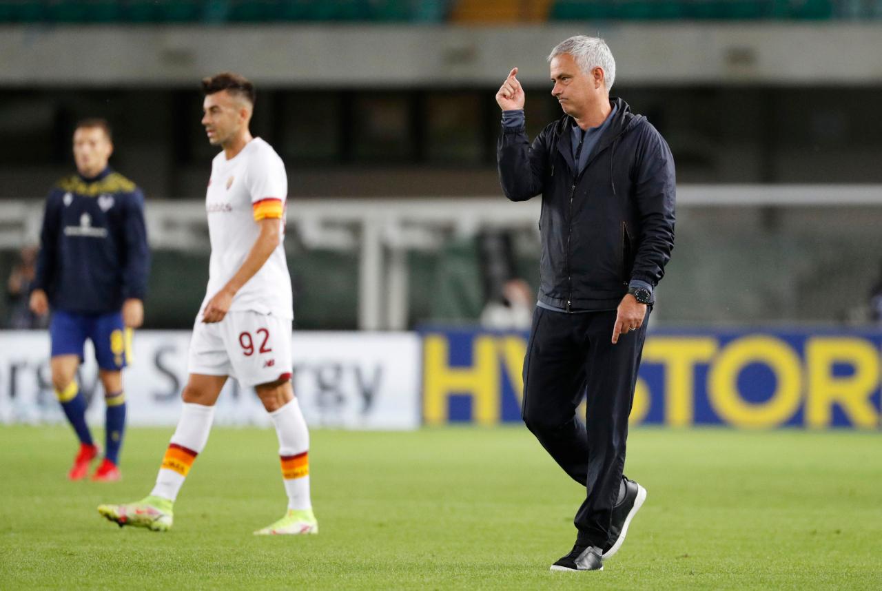 Jose Mourinho annoyed