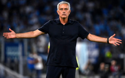 Roma fans turn on Mourinho after 6-1 defeat