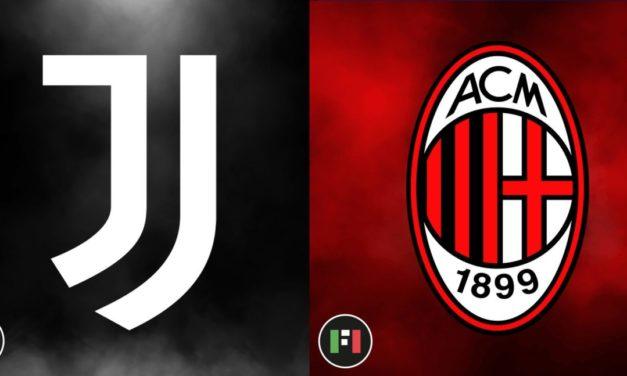 Serie A LIVE | Juventus vs. Milan
