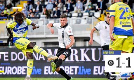 Video: Kean anota su primer gol desde el regreso de la Juventus
