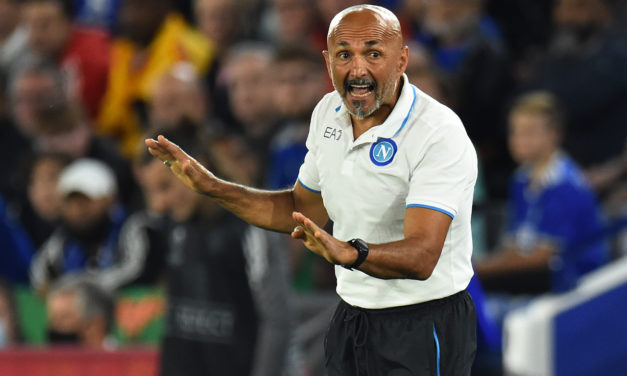 Spalletti: 'Napoli must be ready for negative moments'