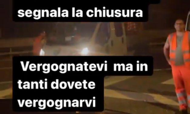 Video: Italy boss Mancini rages at motorway closure