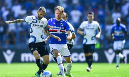 Damsgaard injury concern for Sampdoria
