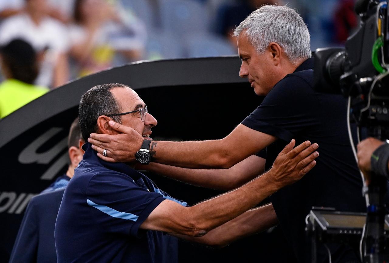 Jose Mourinho Maurizio Sarri