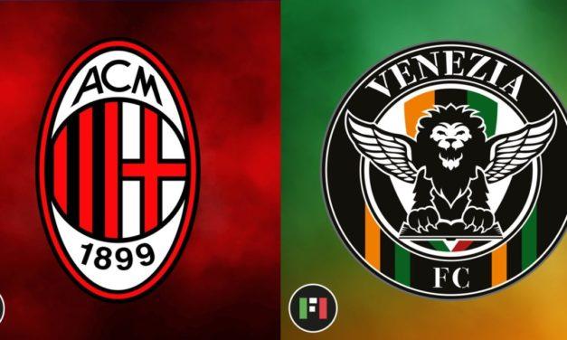 Vista previa de la Serie A | Milán vs.Venezia: Rossoneri confiados