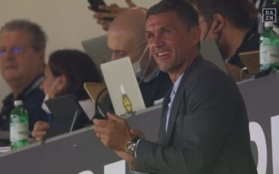 Video: Proud Dad Paolo Maldini sees Daniel score for Milan