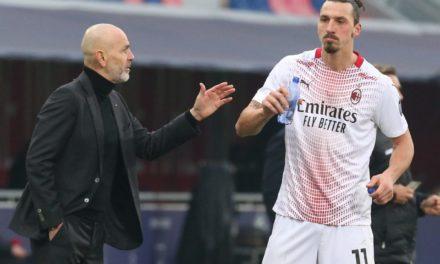 Pioli: 'Ibrahimovic can play more than 15 minutes'