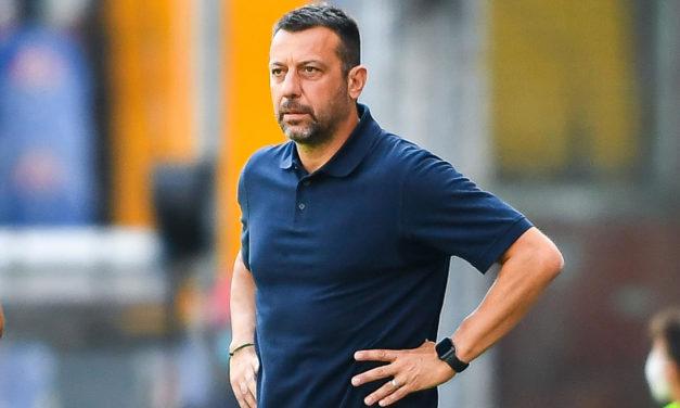 D'Aversa hails Sampdoria defenders