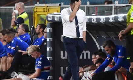 D'Aversa critica un resultado 'excesivo' en la Sampdoria