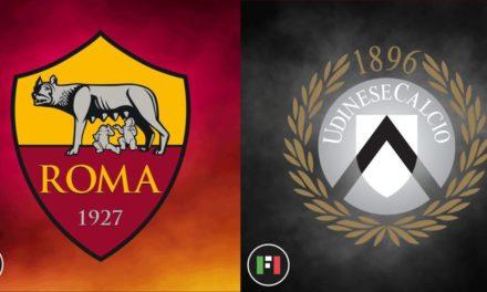 Serie A EN VIVO: Roma vs.Udinese