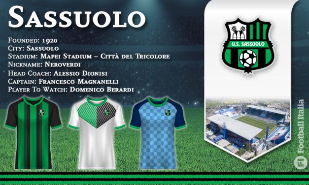 Avance de la temporada 2021-22 del Sassuolo Serie A: todos los traspasos completados y que esperar