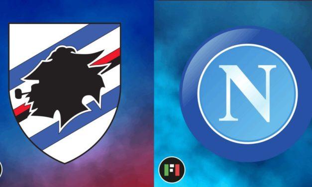 Serie A EN VIVO: Sampdoria vs.Nápoli